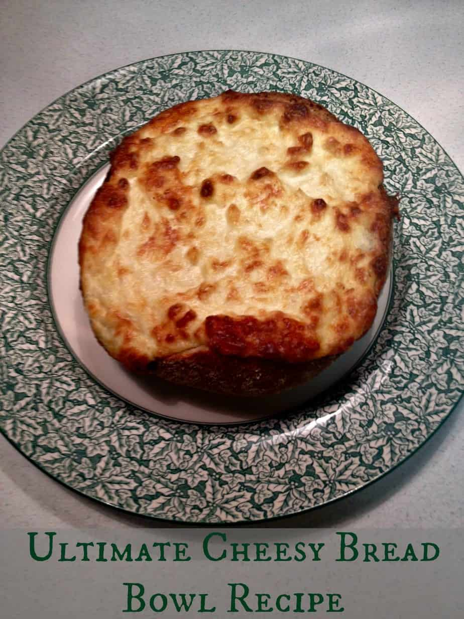 utlimate cheesy bread bowl recipe