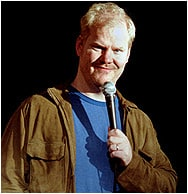 jg Jim Gaffigan delivers more than bacon...