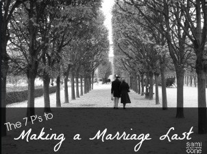 the 7 ps to making a marriage last