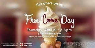 Free Carvel Ice Cream
