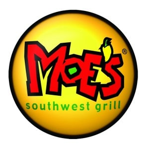 Moes Logo Round COLOR 300x300 Moes Free Queso & Kids Eat Free Monday!