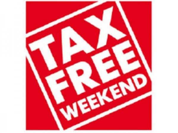 Tax Free Week- Back to School Deals