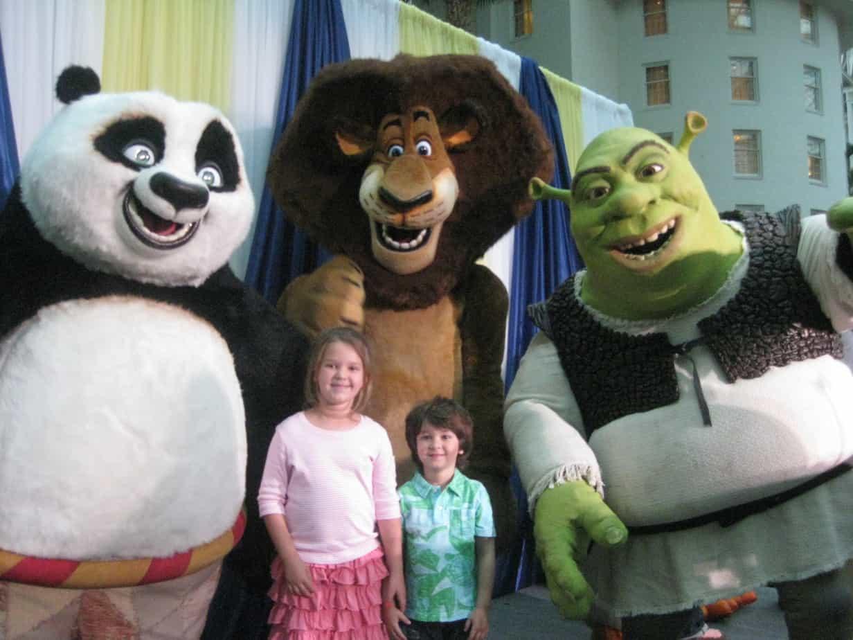 Shrek, Kung Fu Panda & Madagascar Friends introduce Gaylord