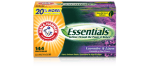 arm-hammer-essentials-fabric-sheets