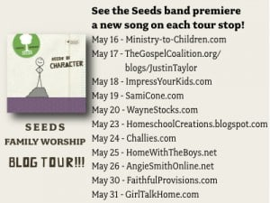 seeds blog tour 300x225 Plumb on new Seeds Family Worship Album: Seeds of Character
