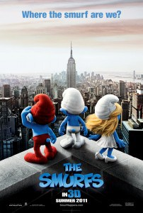 Smurfs One Sheet
