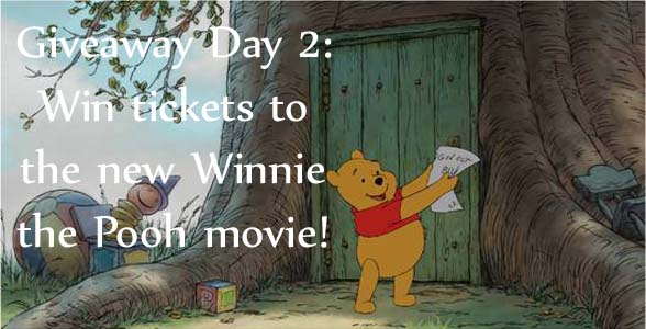 Win Winnie The Pooh Movie Tickets Birthday Giveaway Day 2