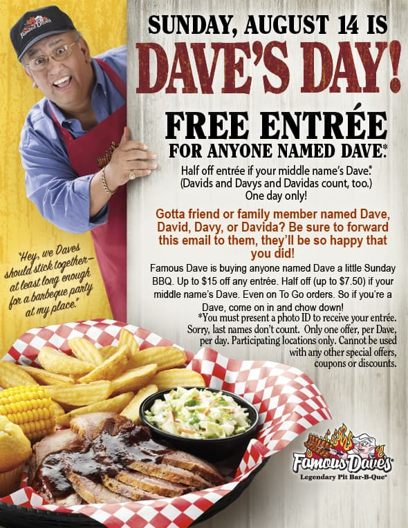 famous-dave-free-day