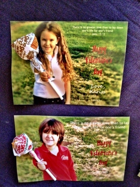 20120208 181731 Pinterest Valentines Card Kids Photo Project