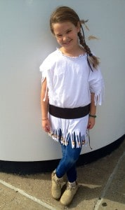 IMG 7548 178x300 Girls Indian Costume Homemade by Daddy