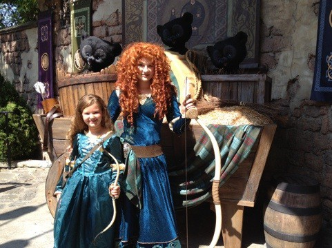 20120531 230733 Merida Character Meeting at Disneys Magic Kingdom