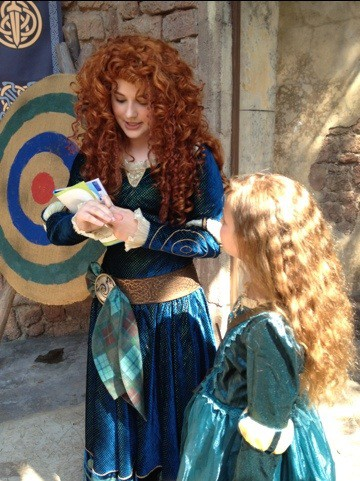 20120531 230836 Merida Character Meeting at Disneys Magic Kingdom