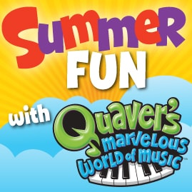 SummerFun Quaver Music Mondays Week 2: Tempo & Rhythm