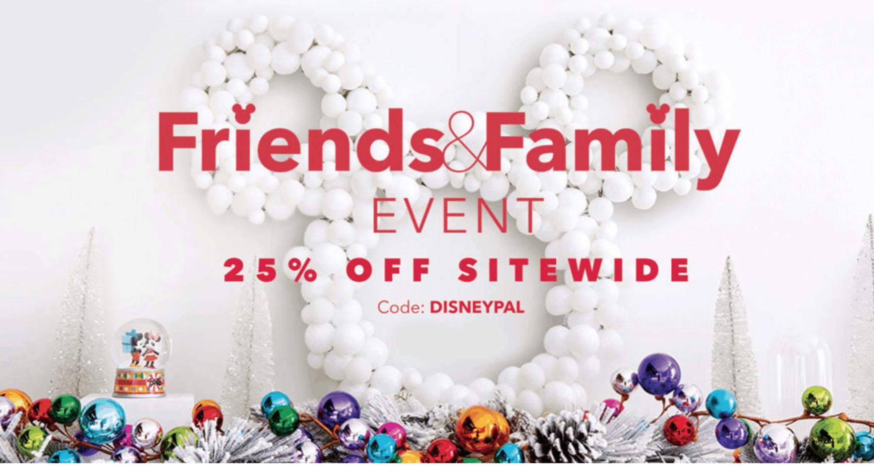 Disney Store Friends & Family Sale November 2018