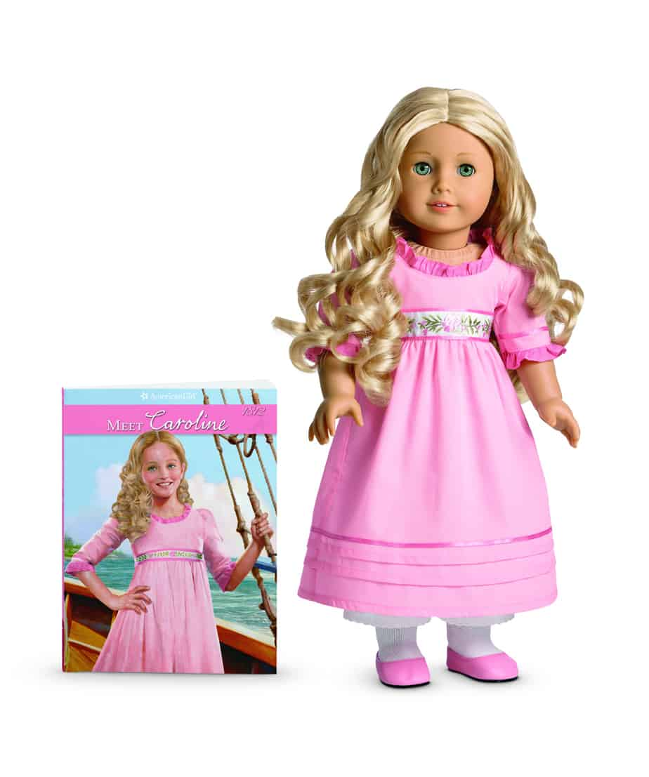 New American Girl Caroline Giveaway (Historical Doll) & review