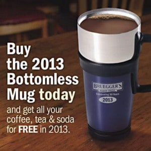Brueggers Free Coffee Day November 14, 2012