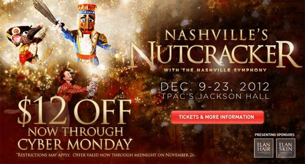 nashville-nutcracker-cyber-monday-ticket-discount