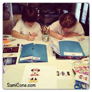 20130121 095651 How to Make a Disney Cruise Lapbook