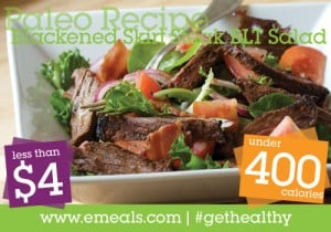 blackened skirt steak salad 400 4 300x210 An Easy Food Soup Swap: Talk of the Town Video