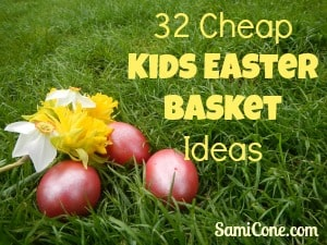 cheap kids easter basket ideas 32 Cheap Kids Easter Basket Ideas