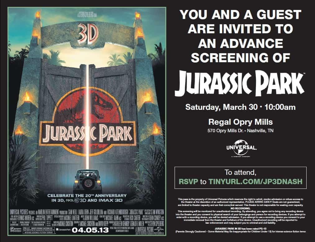 Free movie premiere ticket