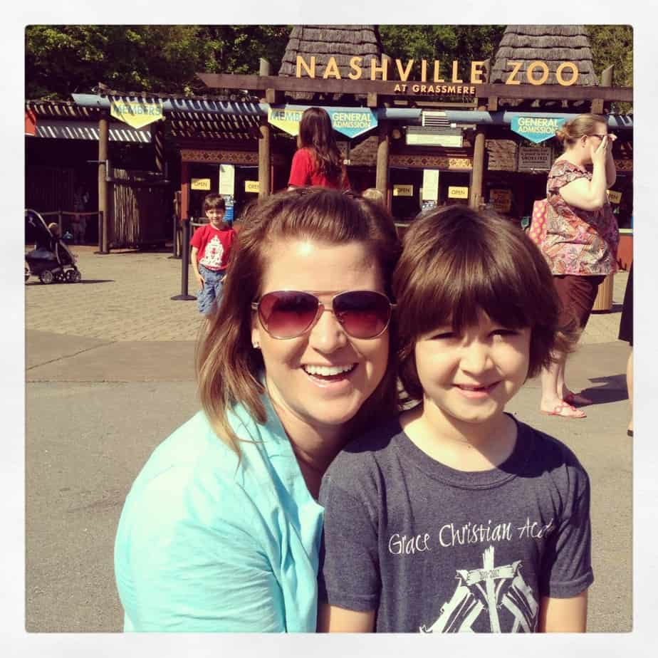 nashville zoo kid field trip