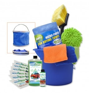 Washdrops Earth Day cleaning kit