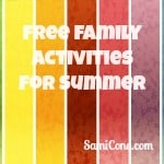 free family activities for summer