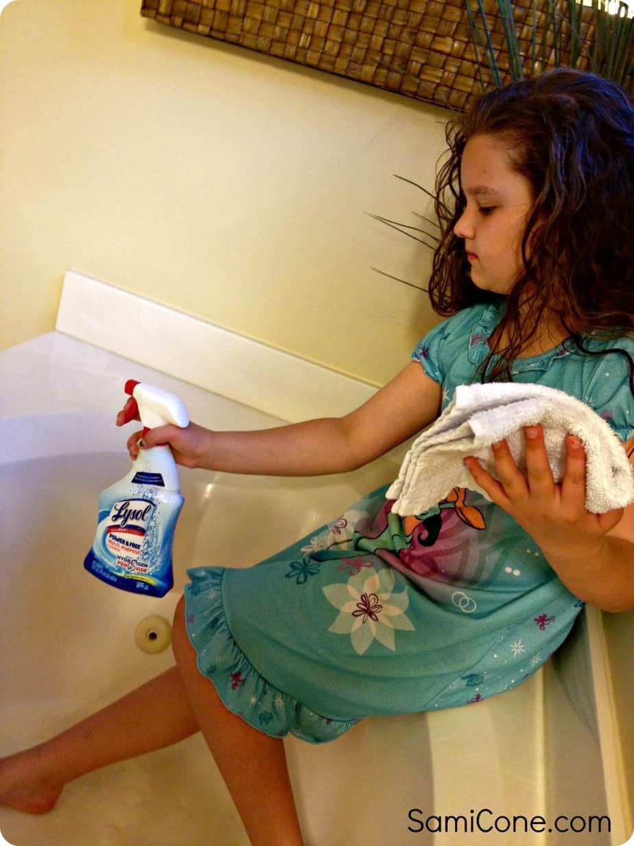 kid safe spray cleaner no bleach