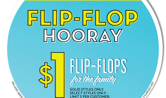 Old Navy One Day Wonder Flip Flop Sale June 20, 2015 - SamiCone.com ...