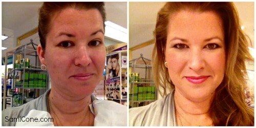 Elizabeth Arden makeover