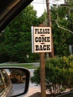 miltons cuisine please come back sign