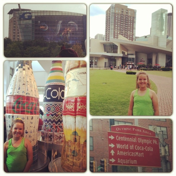world of coke GA aquarium picture atlanta collage