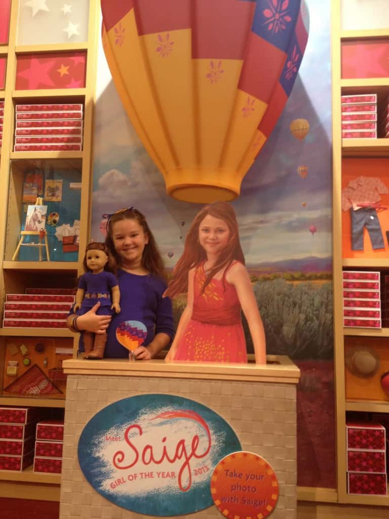 atlanta girl mom weekend american girl saige