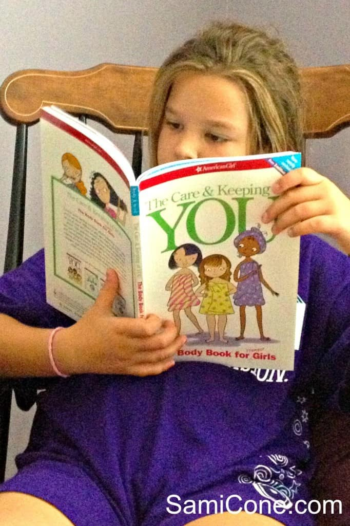 care and keeping you book american girl