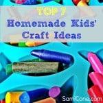top 7 homemade kids craft ideas