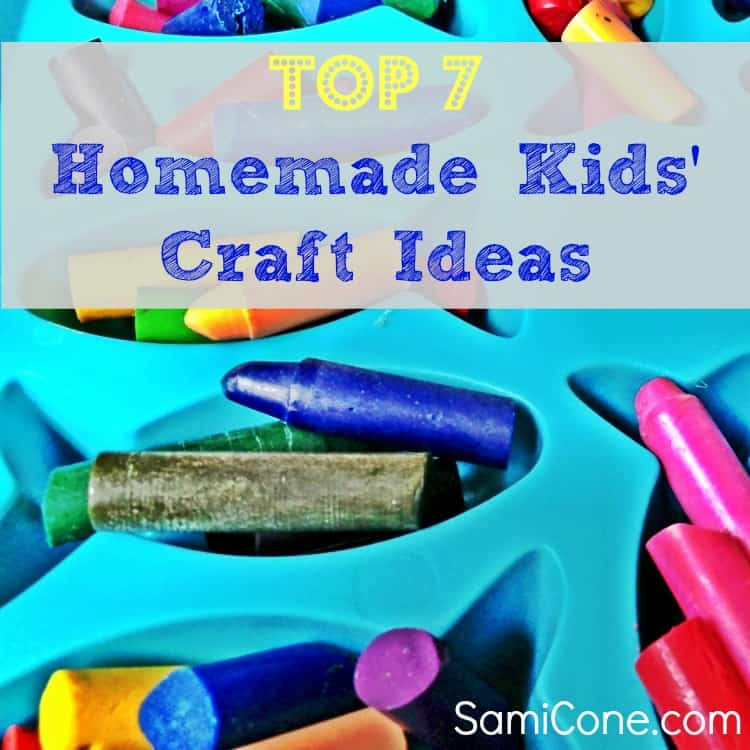 top 7 homemade kids craft ideas