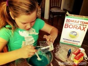 how to make goo borax recipe