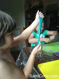 how to make goo kids stretch