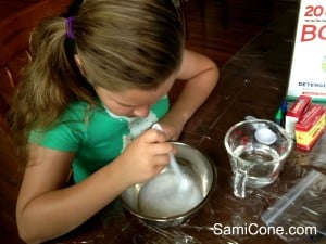 how to make goo picture glue and water