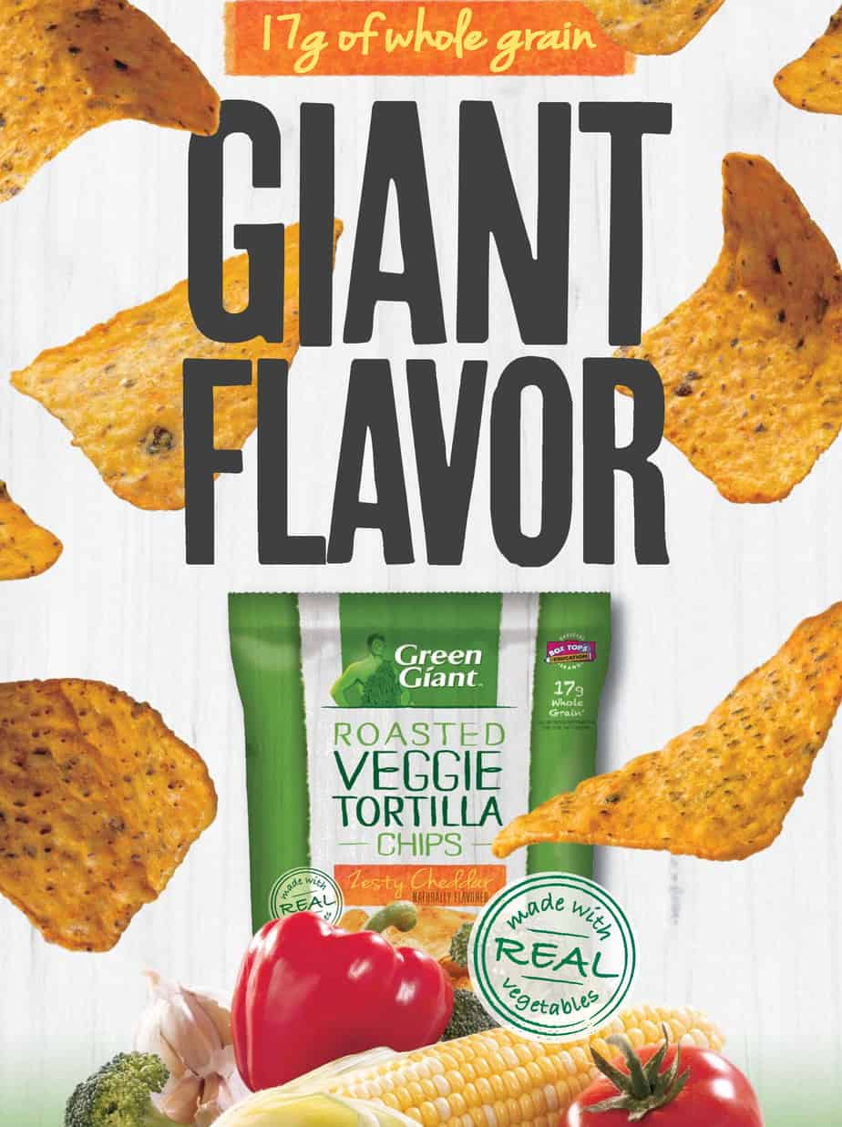 Green Giant Veggie Chips Review