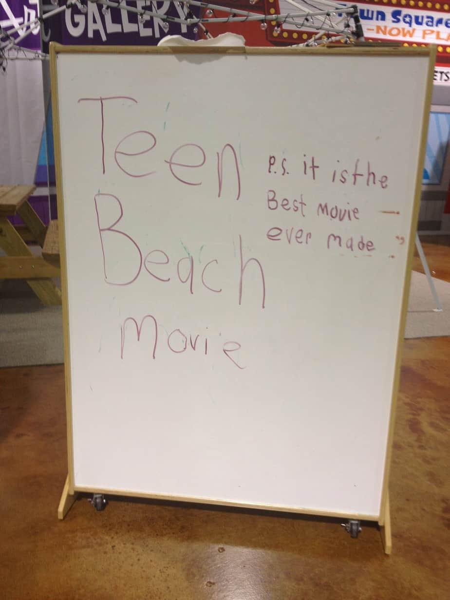 disney teen beach movie dvd review