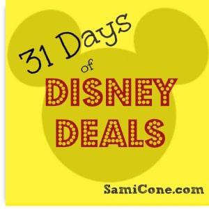 disney daily deals