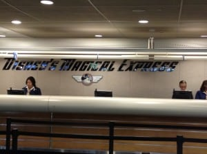 Disney Magical Express sign