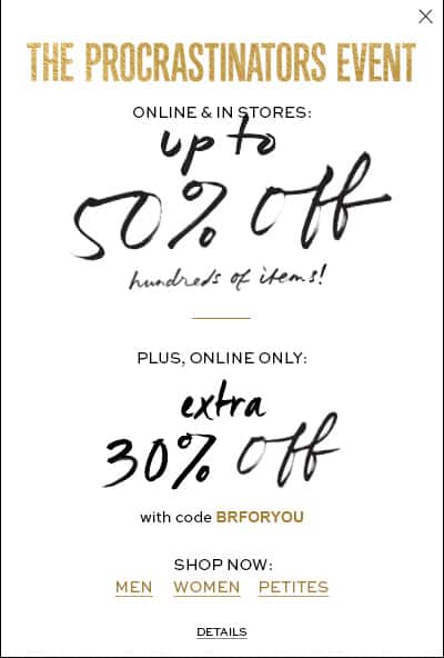 Banana Republic Promo Code December 2014 Banana Republic Promo Code December 2014