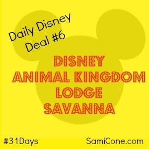 disney animal kingdom lodge savanna daily disney deal 6