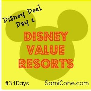 disney value resorts disney deals day 2