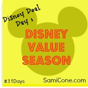 disney value season travel deals