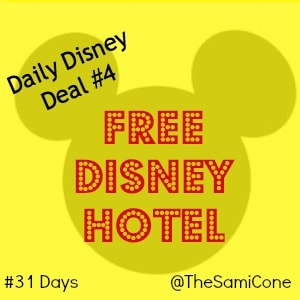 free disney hotel daily disney deal 4