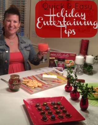 last minute holiday entertaining tips